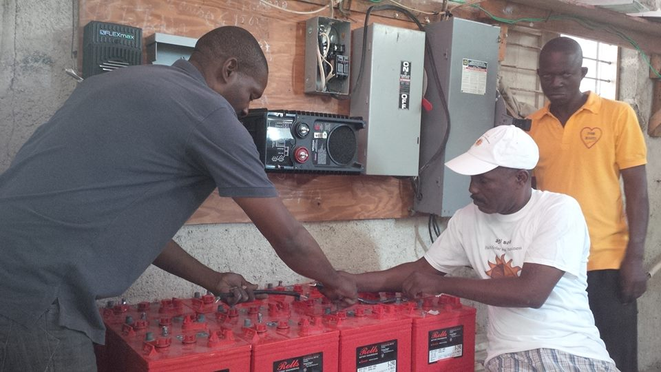 Haiti mission organization goes green