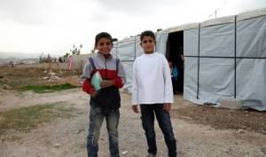Millions of people have fled the clutches of ISIS, including these Syrian boys.