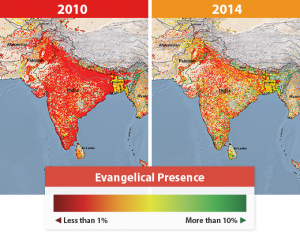 (Map courtesy of Mission India)