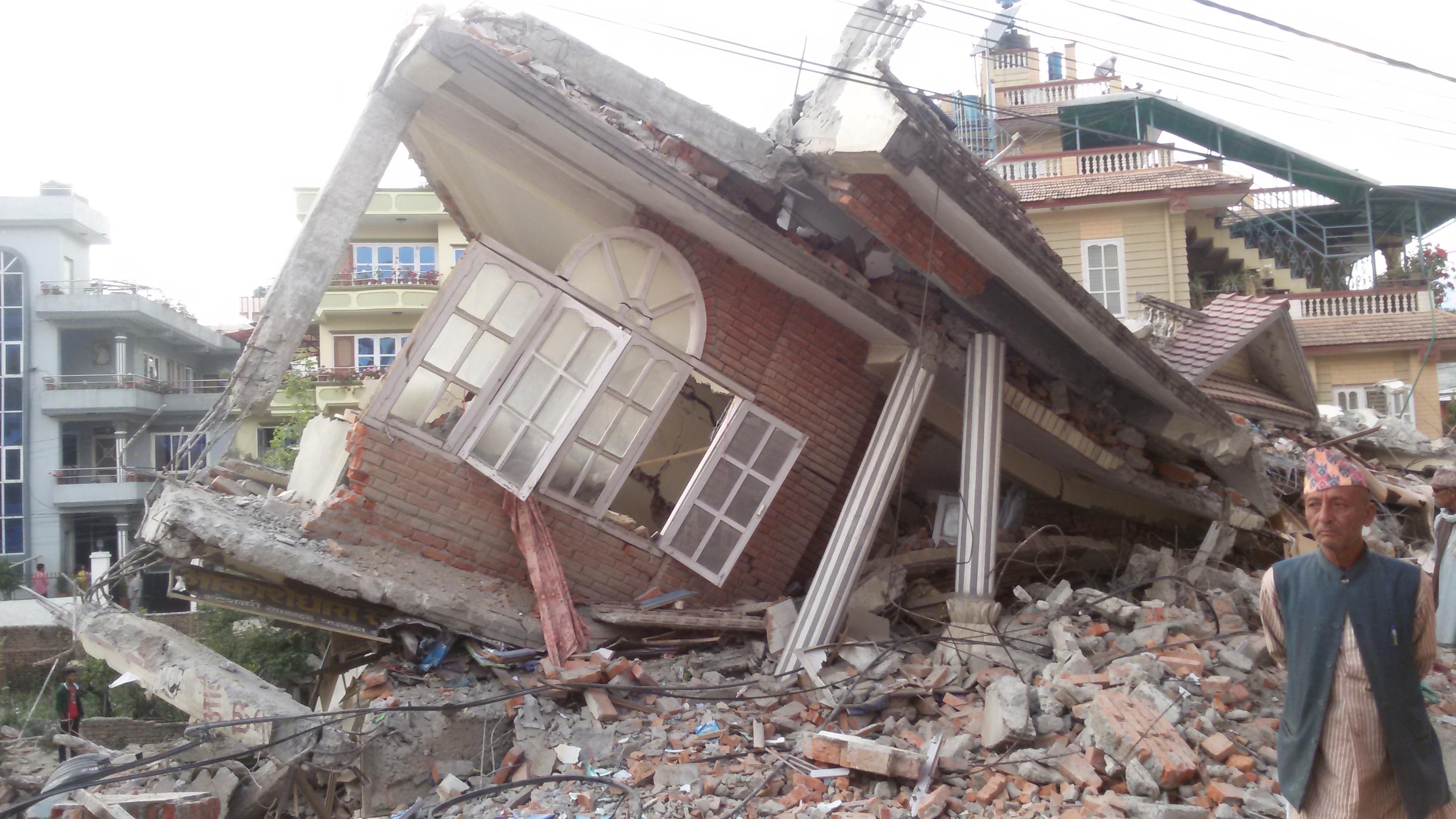 Nepal earthquake_destruction