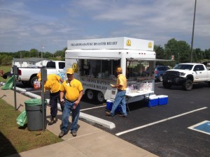 Oklahoma storm victims receive help