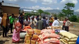 VBB_Nepal earthquake aid dist