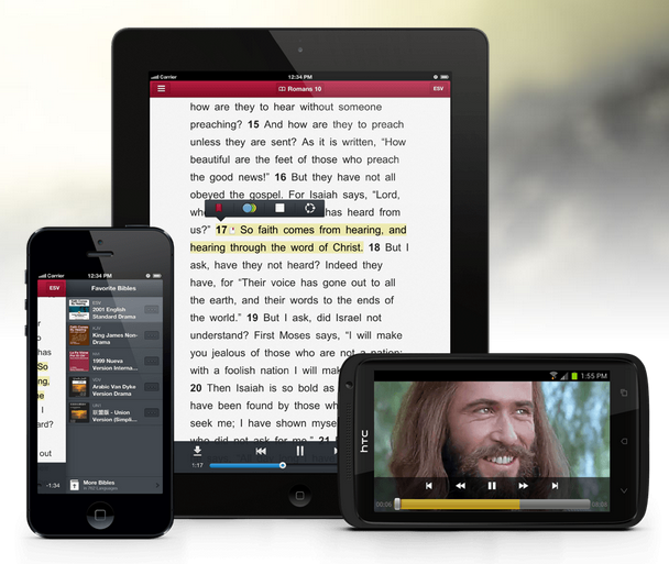 Audio Bibles bring God's Word to diverse audience