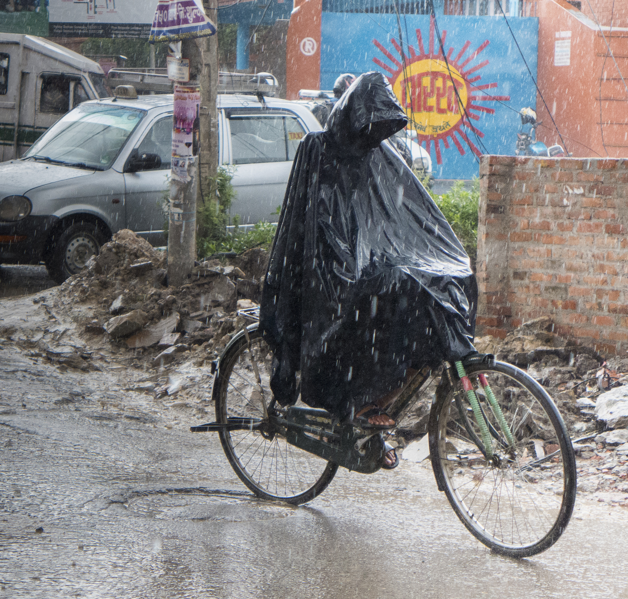 Monsoon season arrives, carrying new threat