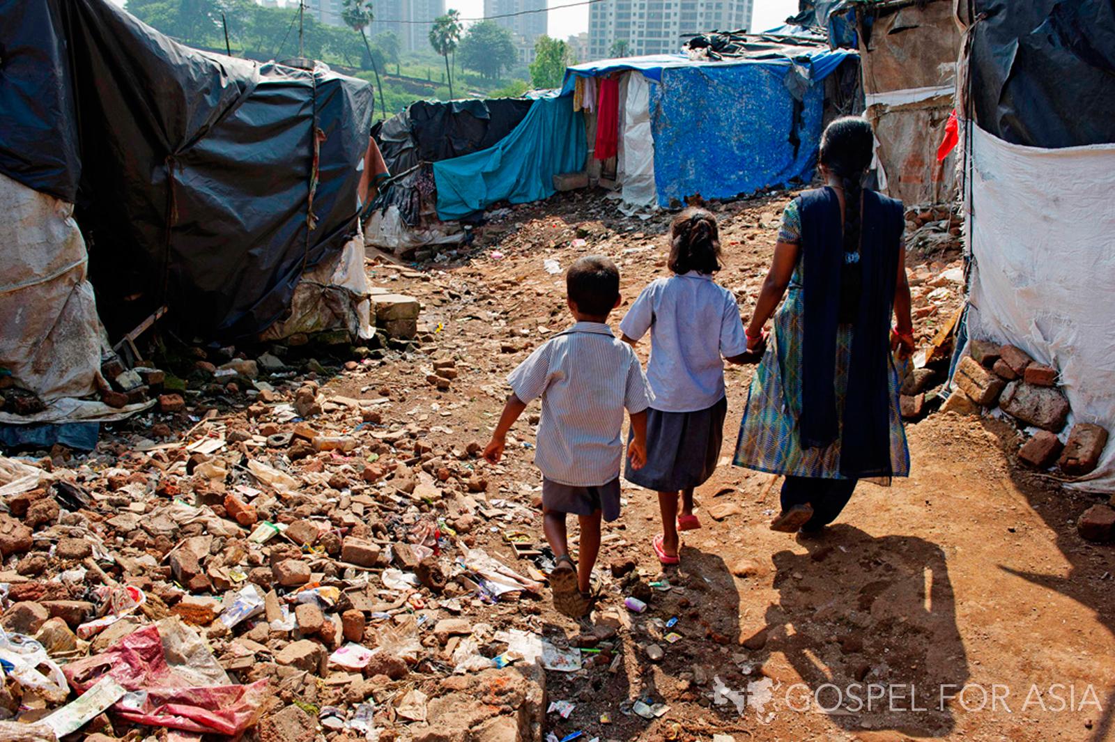 Pastor brings hope to slums