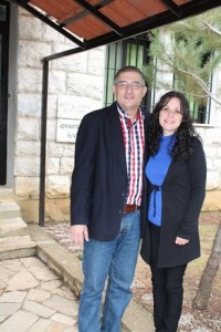 Alain and Rula, Beit El Safa's house parents. (Photo and caption courtesy of SAT-7 UK)