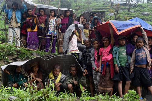 Nepal in collective shock