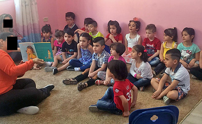 School opens to Iraqi refugee children