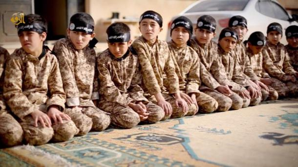 Children kidnapped by ISIS, turned into weapons