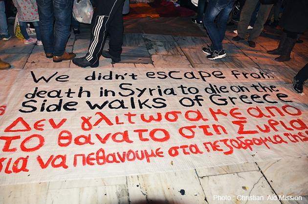 Greece debt adds to refugee crisis