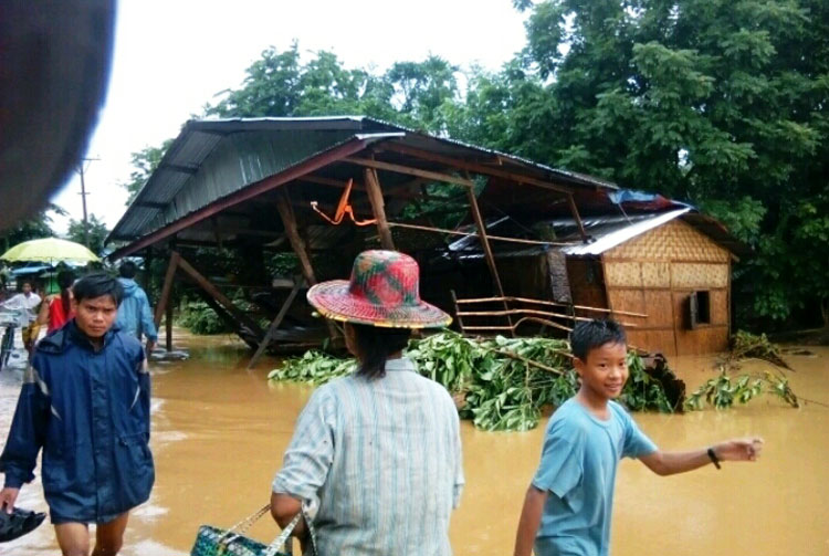 Floods hit hard in SE Asia