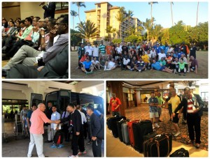 A collage from one of Haggai's international training sessions.  (Photo courtesy Haggai)