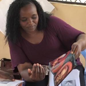 Counselor training in Kenya.  (Photo courtesy LIFE International)