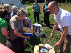 "Mission Eurasia's ""I Care"" Program is providing food, shelter and Jesus to displaced people in Ukraine."