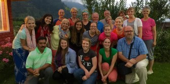 Team members from 91.3 WCSG in Grand Rapids, MI loved orphans in Manali, India and many became child sponsors. You can, too.