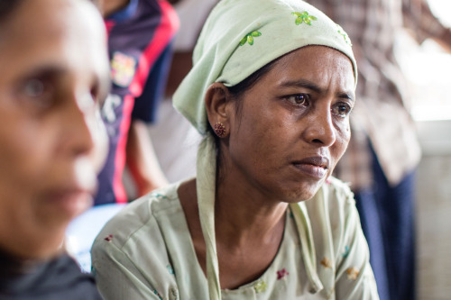 Trafficked Rohingya victims reunited
