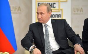 Russian President Vladimir Putin at the 2015 BRICS summit.  (Photo credit www.Kremlin.ru)