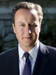 UK Prime Minister David Cameron (Wikipedia)
