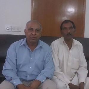 (Photo courtesy Forgotten Missionaries International-Husband Ashiq Masih, seated on right)