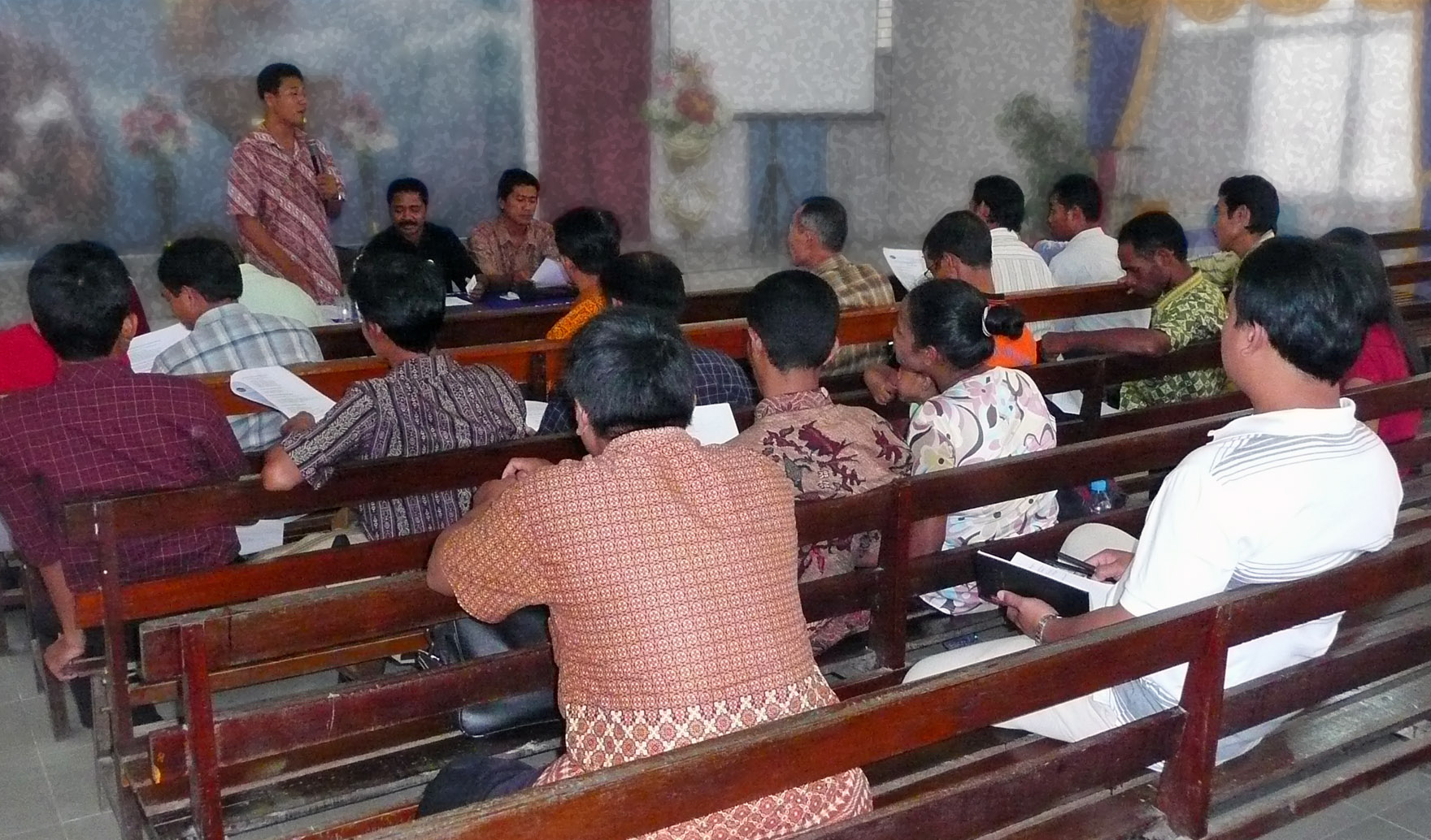 Indonesia: training the trainers