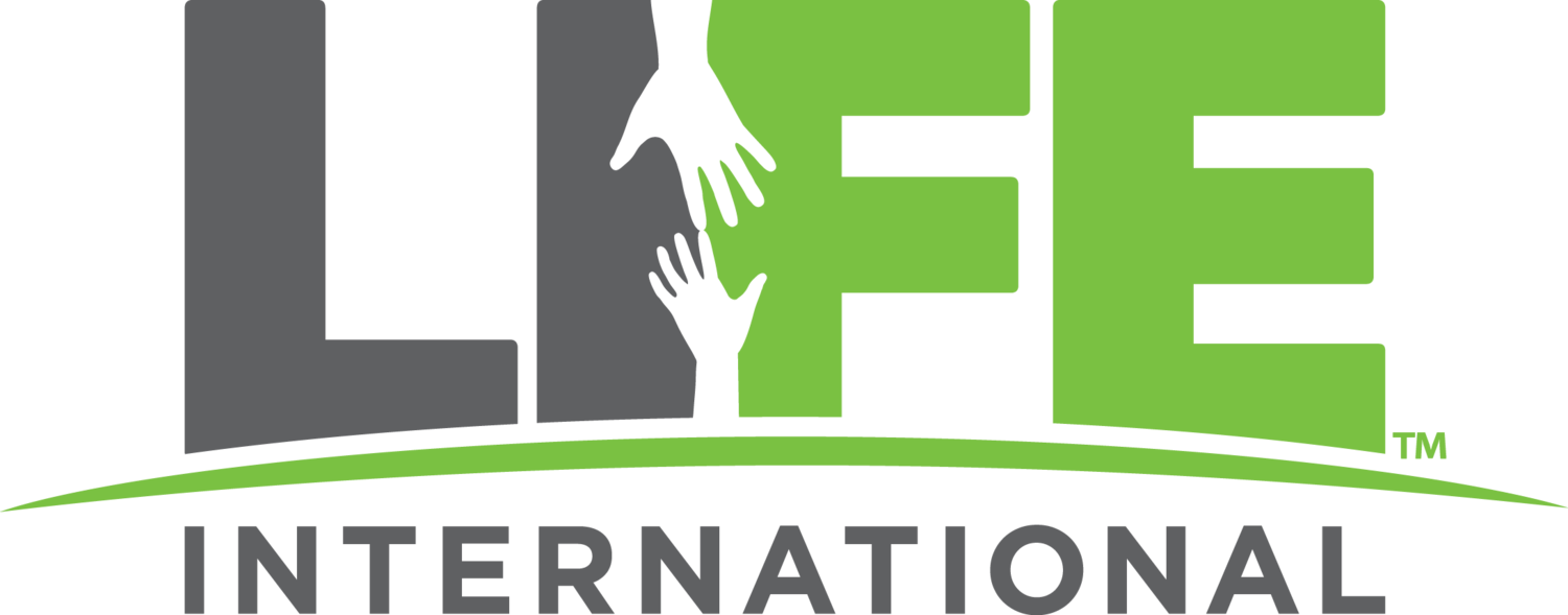 Life saved and changed with LIFE International
