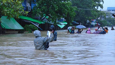 Myanmar flooding fails to stop local Christians