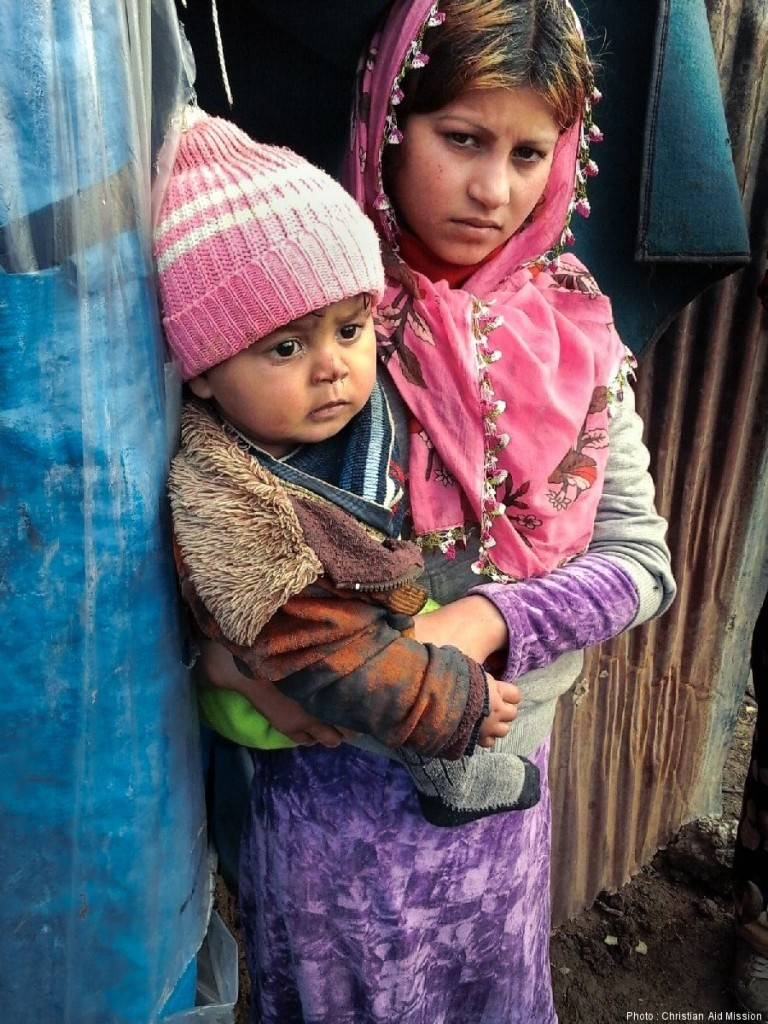 Christian Aid Mission_Syrian refugees