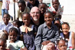 Greg Yoder in Haiti one year after the earthquake.