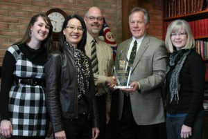Mission Network News wins the NRB International Impact Award 2009.