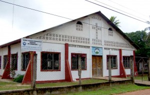 Moravian Central Church is home to the new radio station. (Photo and caption courtesy of Reach beyond)