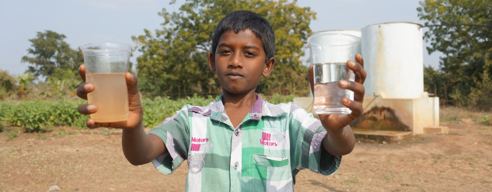 Clean water opens doors for Christ