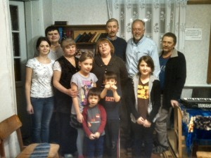 Pastor Oleg from the Lugansk region told of families living in basements due to constant gunfire, torture of members kidnapped and loss of all possessions. Pastor Boris from the Donetsk region placed his church families in locations in the west before leaving under artillery fire. (Photo, caption courtesy SGA)