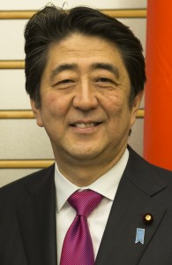 Japan's Prime Minister Shinzo Abe (Wikipedia)