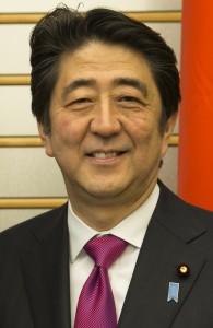 Japan's Prime Minister Shinzo Abe (Wikipedia)