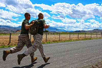 The speed of life in the military