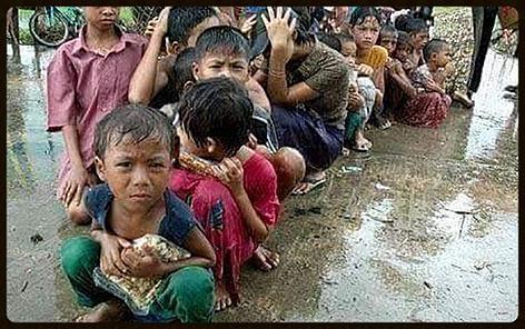 Evacuations underway for low-lying areas in Myanmar