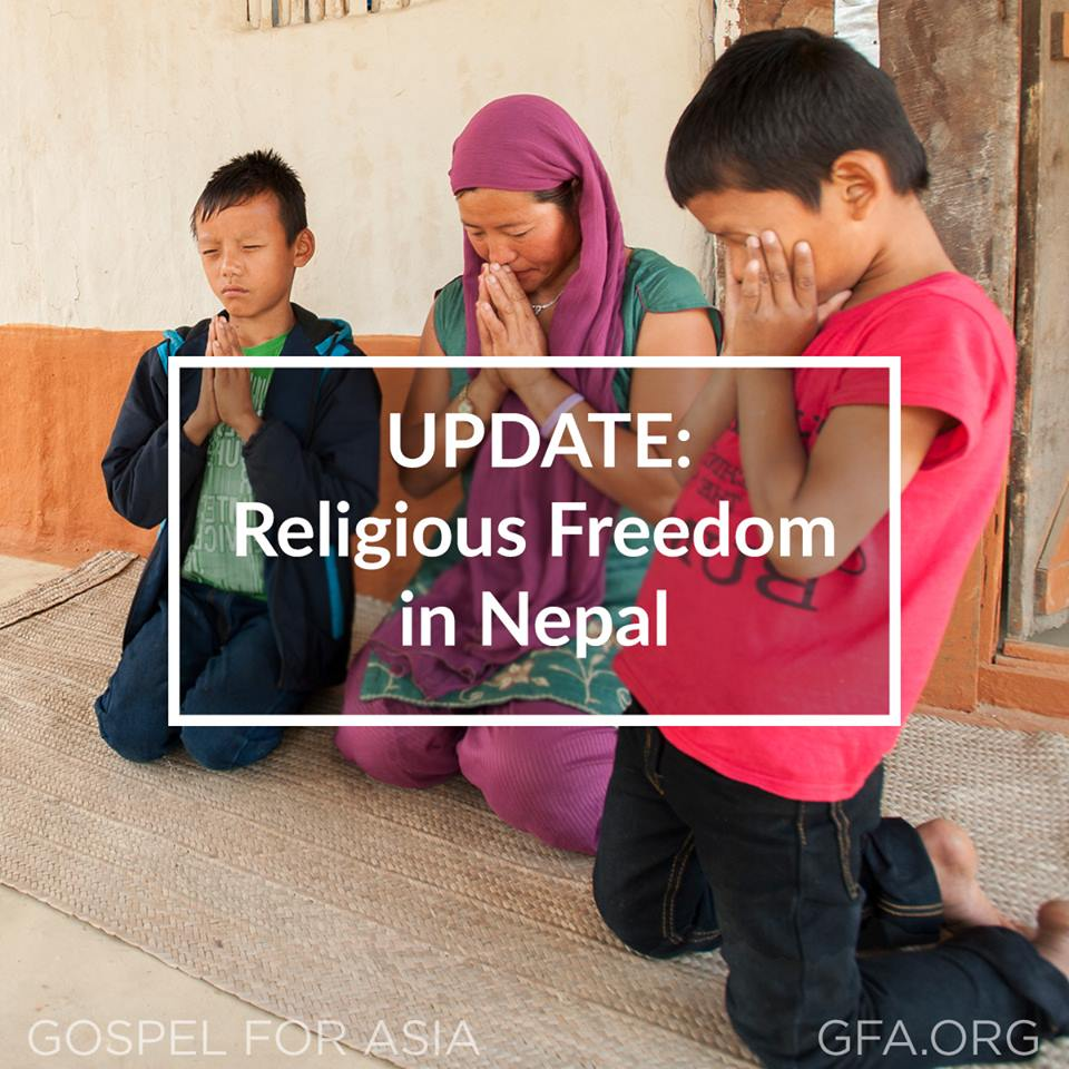 Nepal has been declared a secular nation