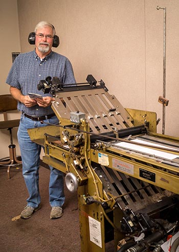 Print shop missionary shows big faith and quiet diligence