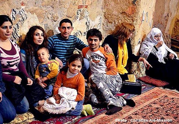 Syrian Christians face life-and-death choices