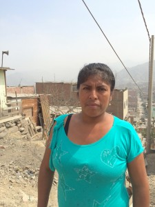 Alicia (pictured) and her sister Norma helped establish the community of Santa Barbara, Peru, and recruited FH to help end poverty. (Photo, caption courtesy Food for the Hungry)