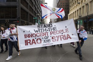 Chicago demonstration stop Islamic State