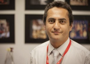Parsa, the audience and public relations manager for SAT-7 PARS. (Photo courtesy of SAT-7)
