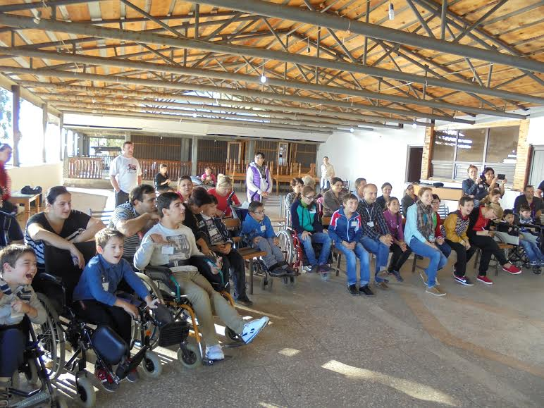 Handicapped camp gives children hope