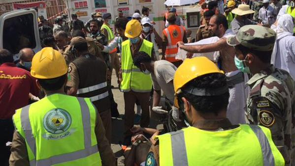 Twitter_rescue workers hajj stampede