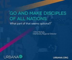 Urbana 15 great commission