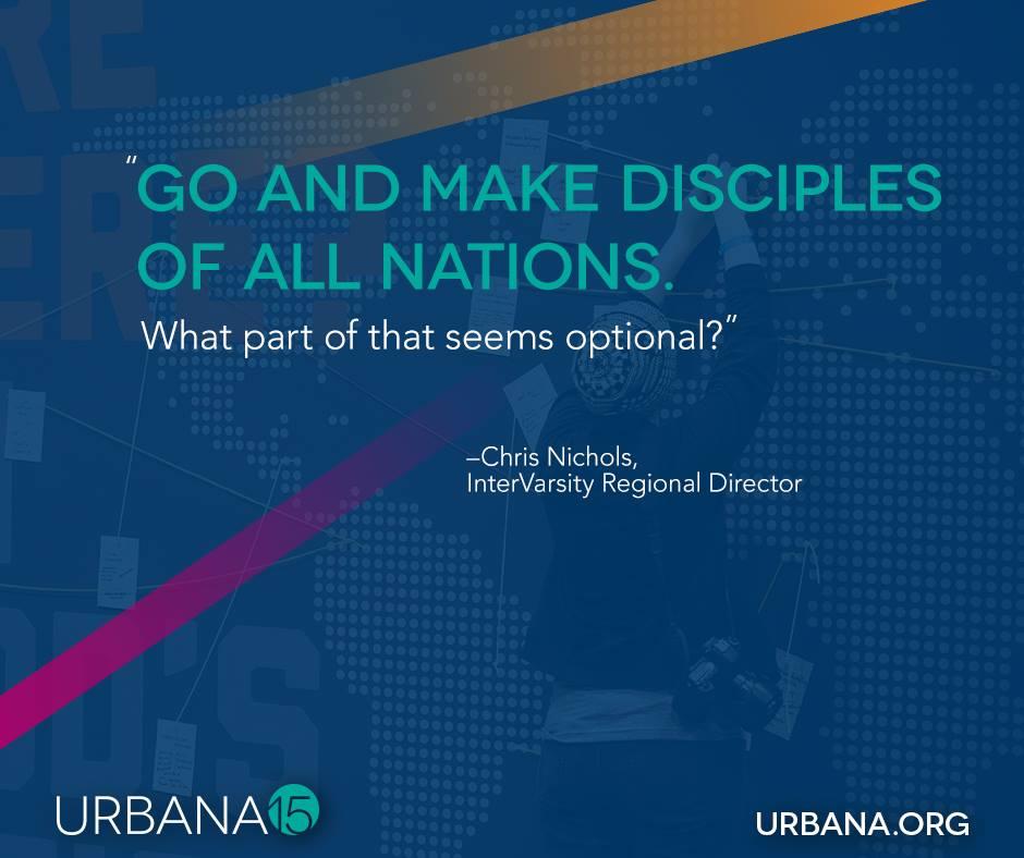 Preparing for Urbana 15: Part One