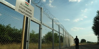 Hungary has built a fence along its border with Serbia to stop migrant entrance.  (Wikimedia Commons)