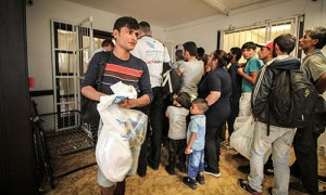 On 9 september HIA distributed 200 packages of food and hygenic items for refugees in Vamosszabadi temporary receptions centre.