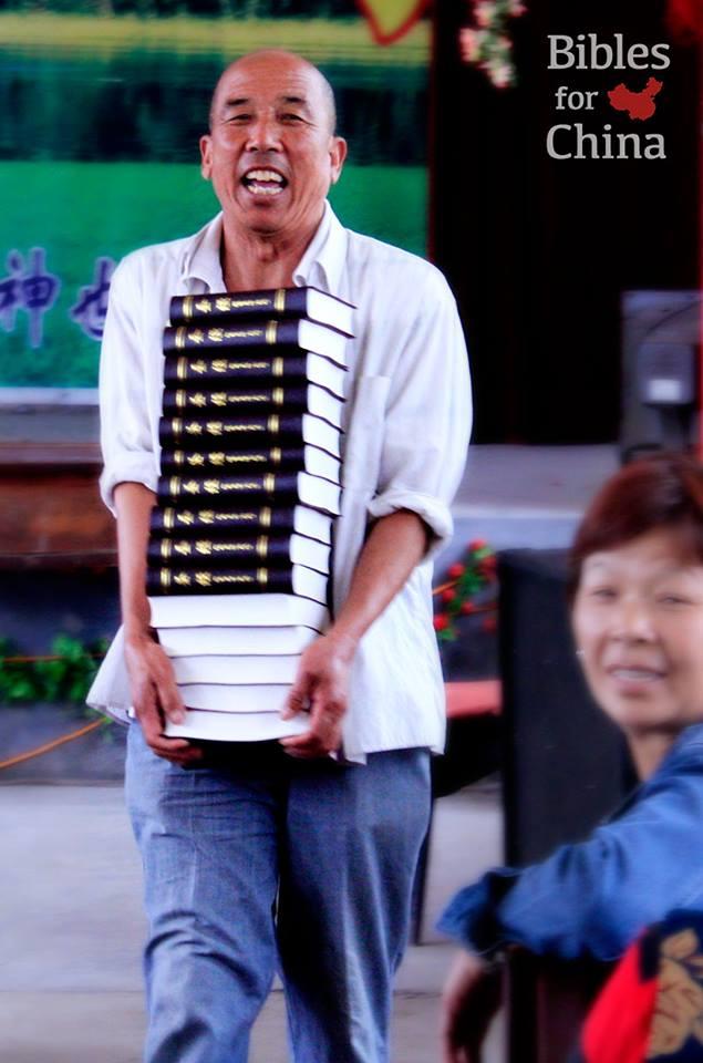 Bibles head to China next week