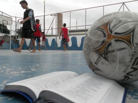 Sharing God's love in Brazil through football